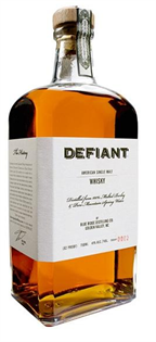 Defiant Whisky Single Malt 750ml